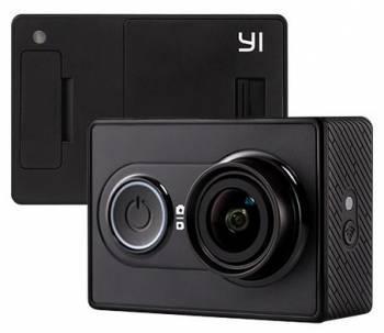 Экшн-камера Xiaomi YI Basic Edition черный