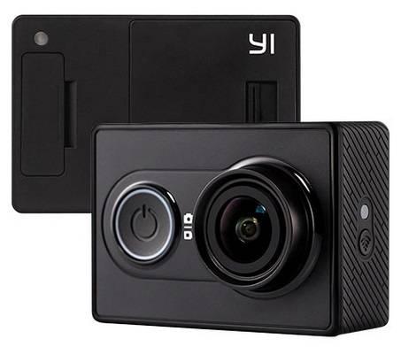 Экшн-камера Xiaomi YI Travel Edition черный - фото 1