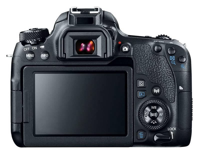Фотоаппарат Canon EOS 77D черный, 1 объектив EF-S 18-135mm f/3.5-5.6 IS USM (1892C004) - фото 4
