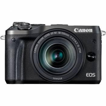 Фотоаппарат Canon EOS M6 kit черный (1724C022)