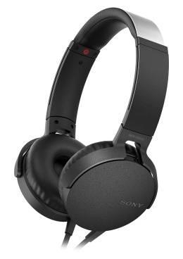Гарнитура Sony MDR-XB550AP черный (MDRXB550APB.E)