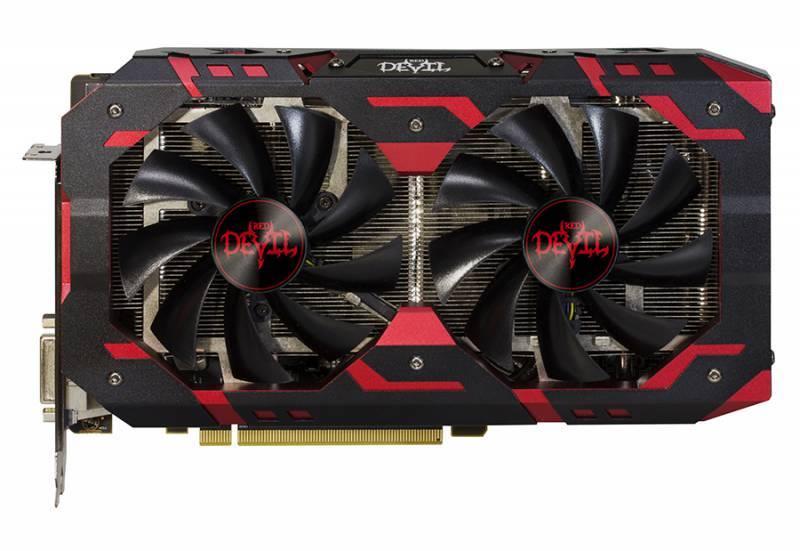 Видеокарта PowerColor Red Devil RX580 8GB GDDR5 Golden 8192 МБ (AXRX 580 8GBD5-3DHG/OC) - фото 4