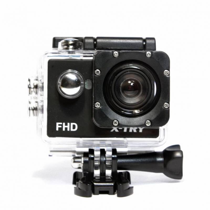 Экшн-камера X-Try XTC110 черный - фото 4