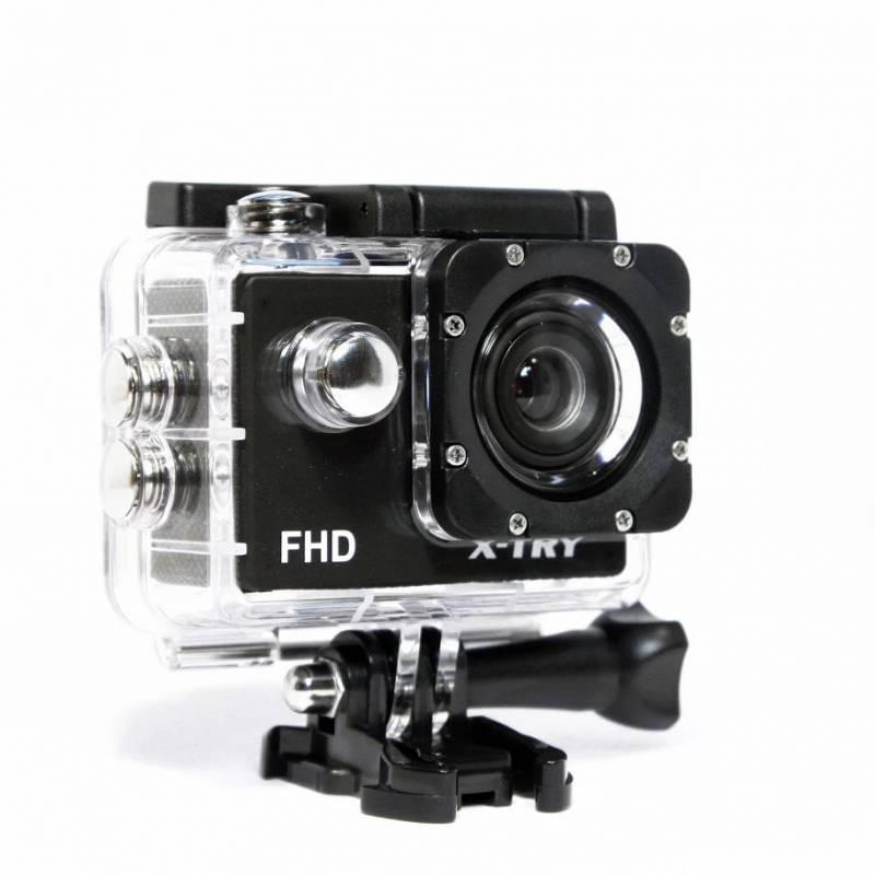 Экшн-камера X-Try XTC110 черный - фото 5