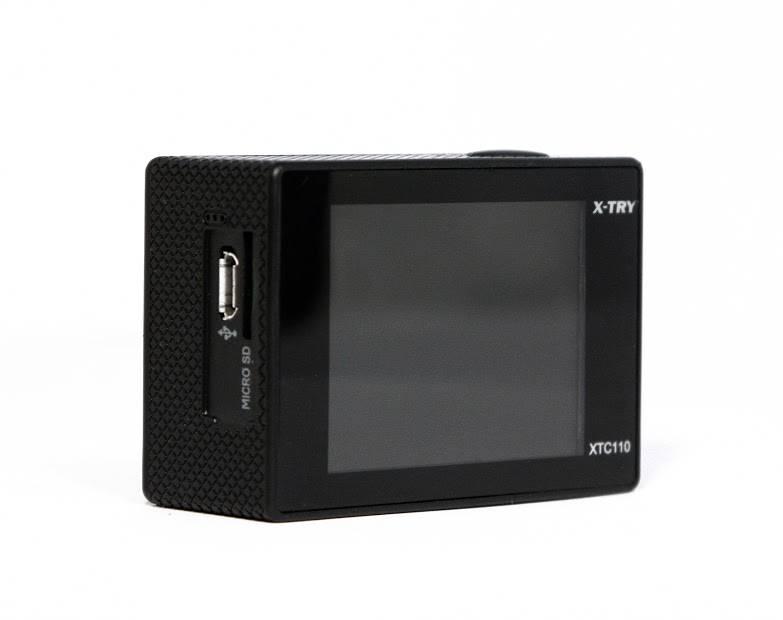 Экшн-камера X-Try XTC110 черный - фото 7