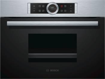 Пароварка Bosch CDG634BS1 нержавеющая сталь/черный