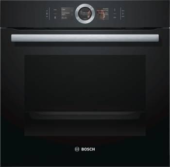 Духовой шкаф электрический Bosch HBG6764B1 черный