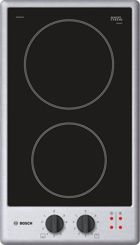 Варочная поверхность Bosch PKE345CA1 серебристый/черный - фото 1