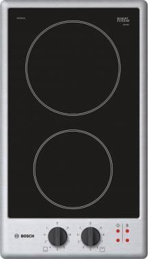 Варочная поверхность Bosch PKE345CA1 серебристый/черный