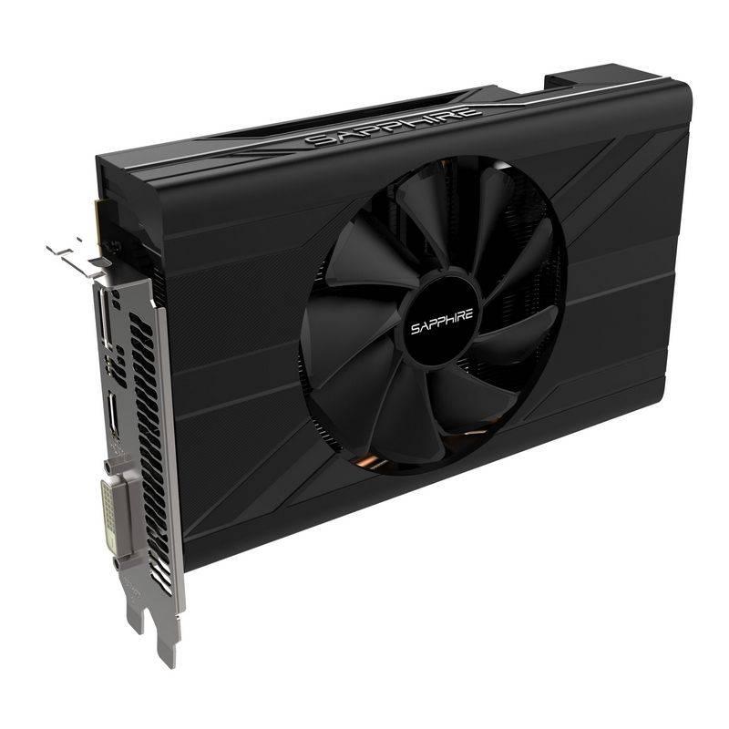 Видеокарта Sapphire PULSE RX 570 4G ITX 4096 МБ (11266-06-20G) - фото 1