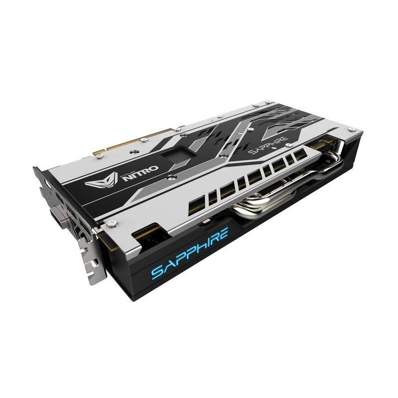 Видеокарта Sapphire NITRO+ RX 570 4G 4096 МБ (11266-14-20G) - фото 4