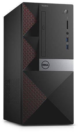 Системный блок Dell Vostro 3667 черный (3667-0765) - фото 1