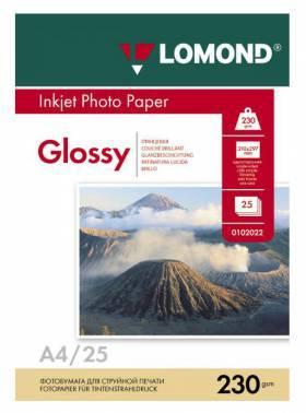 Фотобумага Lomond 0102049 A4 230г/м2 25л. белый