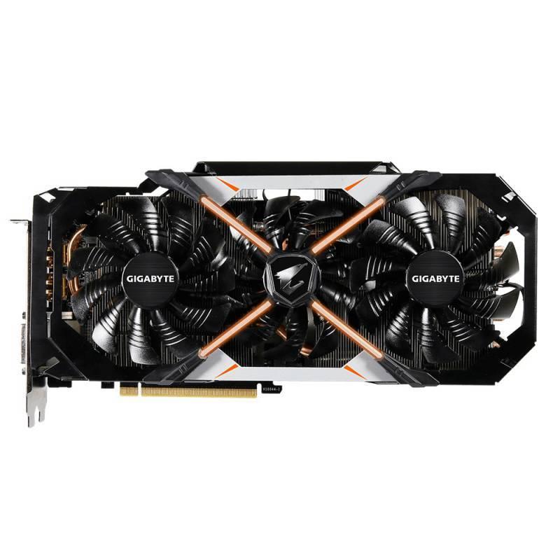Видеокарта Gigabyte AORUS GeForce GTX 1080 8G 8192 МБ (GV-N1080AORUS-8GD) - фото 3