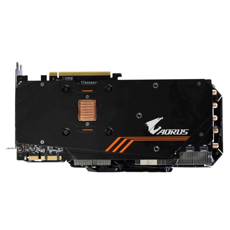 Видеокарта Gigabyte AORUS GeForce GTX 1080 8G 8192 МБ (GV-N1080AORUS-8GD) - фото 5