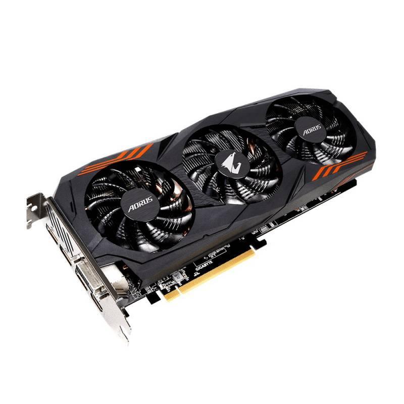 Видеокарта Gigabyte AORUS GeForce GTX 1060 6G 6144 МБ (GV-N1060AORUS-6GD) - фото 2