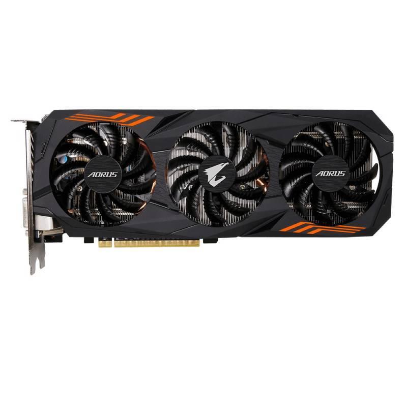 Видеокарта Gigabyte AORUS GeForce GTX 1060 6G 6144 МБ (GV-N1060AORUS-6GD) - фото 3