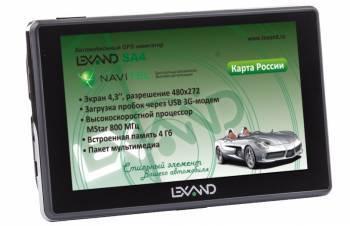 GPS-навигатор Lexand SA4 4.3 серый