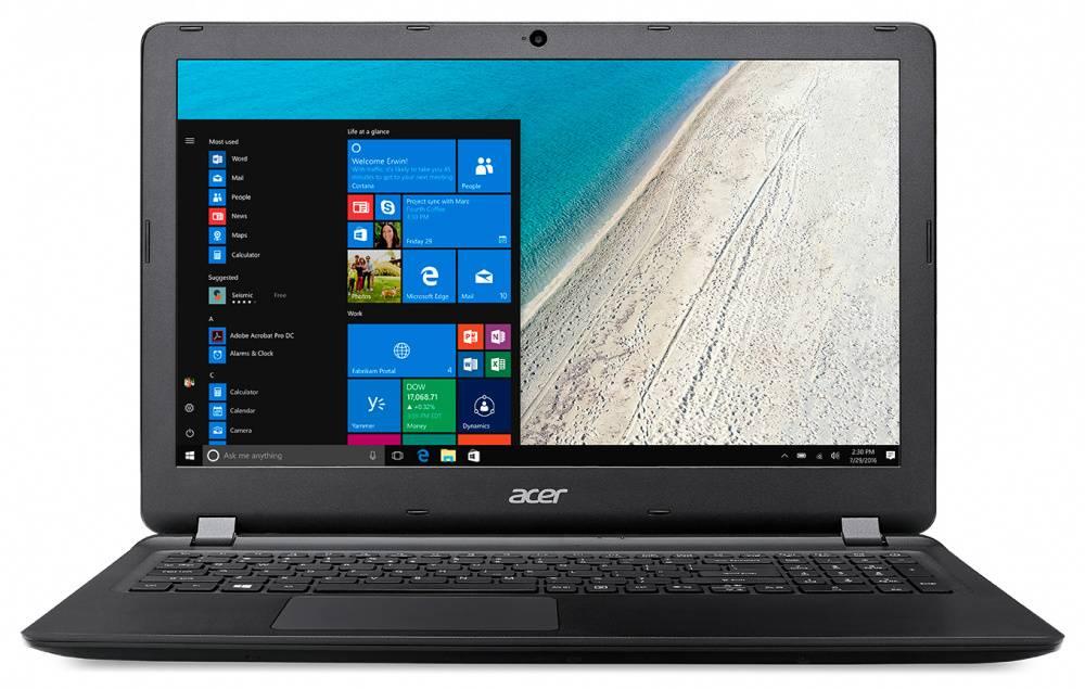 """Ноутбук 15.6"""" Acer Extensa EX2540-517V черный (NX.EFHER.018) - фото 1"""