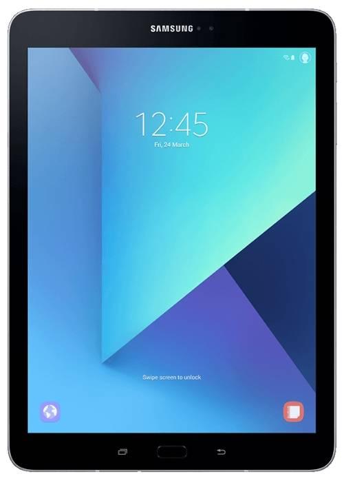 """Планшет 9.7"""" Samsung Galaxy Tab S3 SM-T825N 32ГБ серебристый (SM-T825NZSASER) - фото 1"""