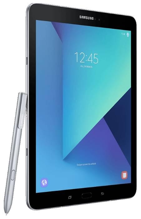 """Планшет 9.7"""" Samsung Galaxy Tab S3 SM-T825N 32ГБ серебристый (SM-T825NZSASER) - фото 2"""