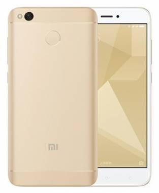 Смартфон Xiaomi Redmi 4X 16ГБ золотистый