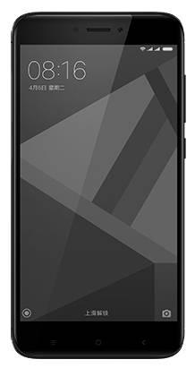 Смартфон Xiaomi Redmi 4X 16ГБ черный - фото 1