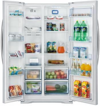 Холодильник Shivaki SBS-615DNFW белый