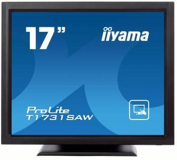 "Монитор 17"" Iiyama T1731SAW-B1 черный"