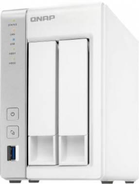 Сетевое хранилище NAS Qnap D2 белый