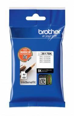 Картридж струйный Brother LC3617BK черный