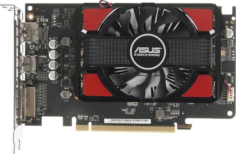 Видеокарта Asus Radeon RX 550 2048 МБ (RX550-2G) - фото 2