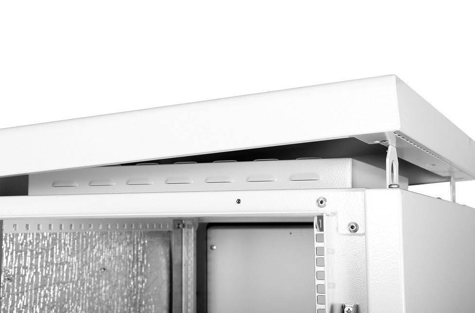 Шкаф коммутационный ЦМО ШТВ-1-12.7.6-43АА 12U серый - фото 4
