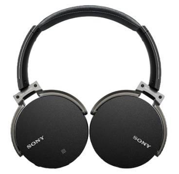 Гарнитура Sony MDR-XB950B1 черный (MDRXB950B1B.E) - фото 3