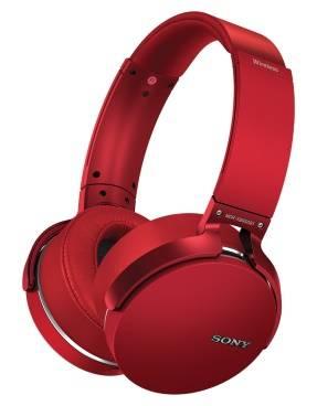 Гарнитура Sony MDR-XB950B1 красный (MDRXB950B1R.E)