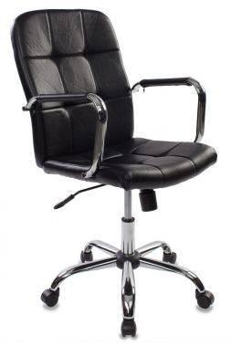 Кресло руководителя Бюрократ CH-909-LOW / BLACK черный