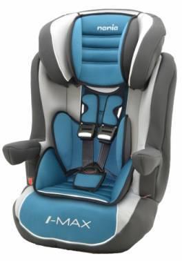 Автокресло детское Nania Imax SP LX (agora petrole) голубой / серый