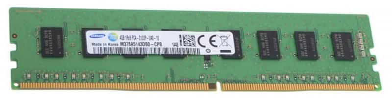 Модуль памяти DIMM DDR4 4Gb Samsung (M378A5143DB0-CPB) - фото 1