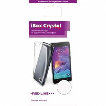 Чехол Redline iBox Crystal, для Samsung Galaxy J3 (2017), прозрачный (УТ000010403)