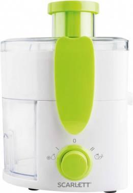 Соковыжималка центробежная Scarlett SC-JE50P01 белый/зеленый (SC - JE50P01)