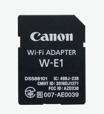 Адаптер для зеркальных и системных камер Canon W-E1 (1716C001)
