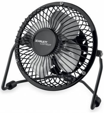 Вентилятор настольный Scarlett SC-DF111S03 черный