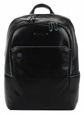 Рюкзак Piquadro Blue Square черный, кожа натуральная (CA3214B2/N)