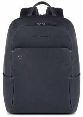 Рюкзак Piquadro Black Square CA3214B3 / BLU синий натур.кожа
