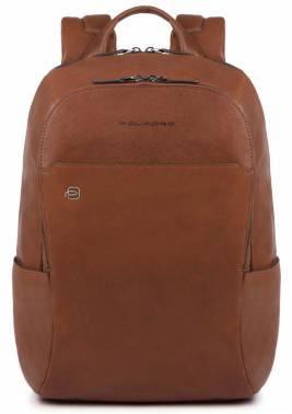 Рюкзак Piquadro Black Square CA3214B3 / CU светло-коричневый натур.кожа
