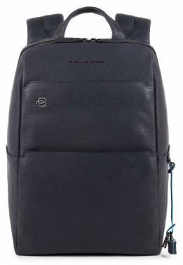 Рюкзак Piquadro Black Square синий, кожа натуральная (CA4022B3/BLU)