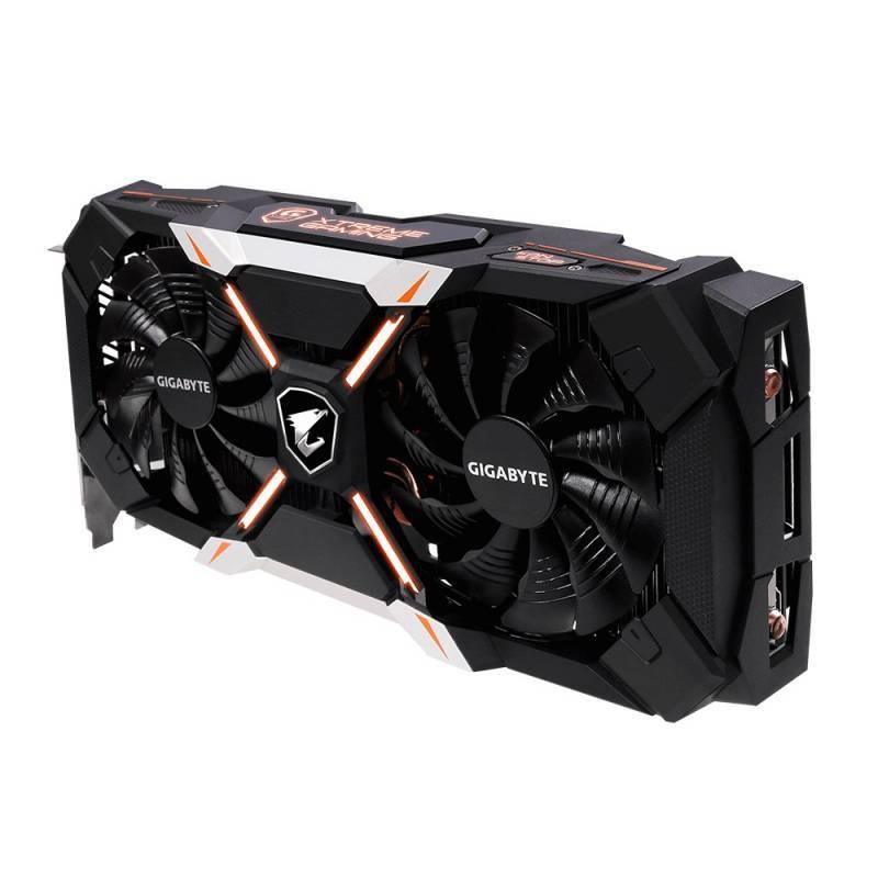 Видеокарта Gigabyte AORUS X GeForce GTX 1060 6G 6144 МБ (GV-N1060AORUS X-6GD) - фото 4