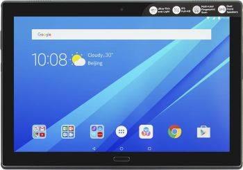 """Планшет 10.1"""" Lenovo Tab 4 Plus TB-X704L 16ГБ черный (ZA2R0018RU)"""