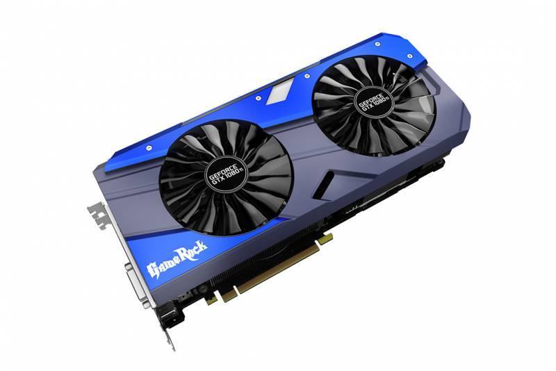 Видеокарта Palit PA-GTX1080TI GameRock Premium 11G 11264 МБ (NEB108TH15LC-1020G) - фото 1