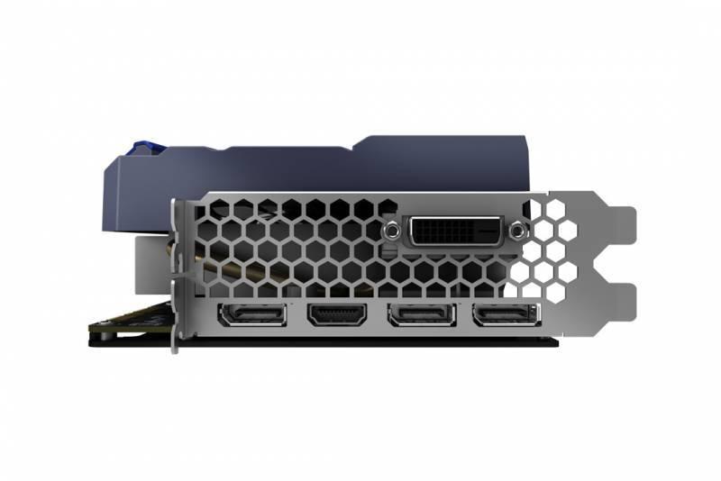 Видеокарта Palit PA-GTX1080TI GameRock Premium 11G 11264 МБ (NEB108TH15LC-1020G) - фото 4